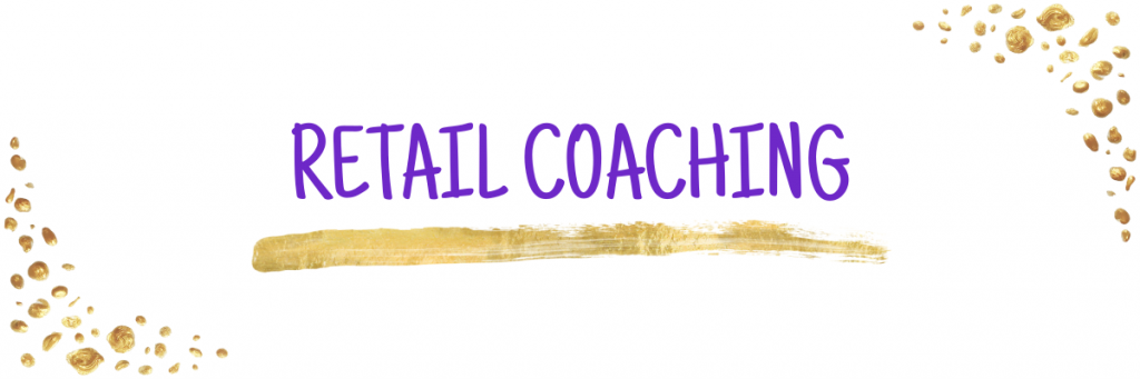 121 Retail Coaching for product based businesses Web Banner
