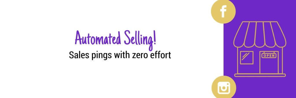 Automated Selling Social Shop Sorted Course Banner