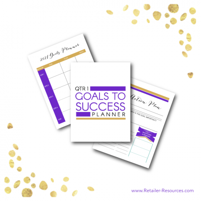 Goals to Success Planner Sheets